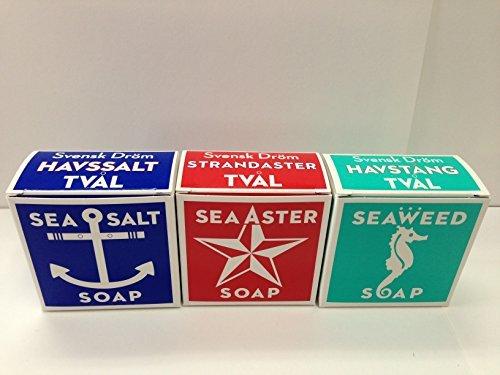 Swedish Dream Soap Trio - Spa Trio Salt Sea