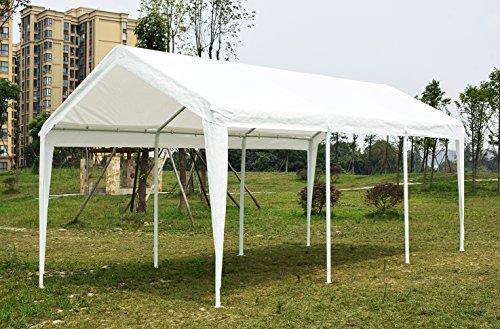Quictent 20 X 10 Heavy Duty Carport Gazebo Canopy Party