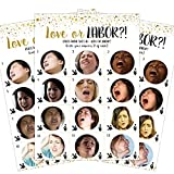 : Baby Shower Games - Love or Labor | 24pcs Game Cards + 1 Answer Key | Neutral Baby Shower Game - For Boys and Girls | Hilarious, Funny, Unique, Easy, Fun! | Baby, Bridal or Bachelorette Party Games by LoopBubble