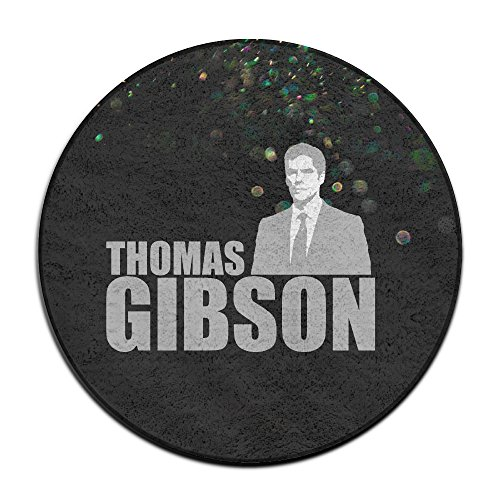BOOMY Thomas Gibson Round Area Rug For Home Decorator Dining Room Bedroom Kitchen Bathroom Balcony