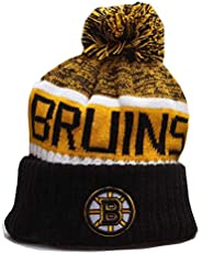 Fans Beanie Sport Knitted Winter Pom Knit Hat Cap Toque Cap for Gift