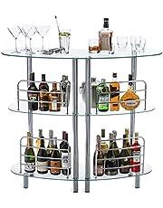 Mango Steam Contemporary Modern Home Entertainment Liquor Bar Catalina Table