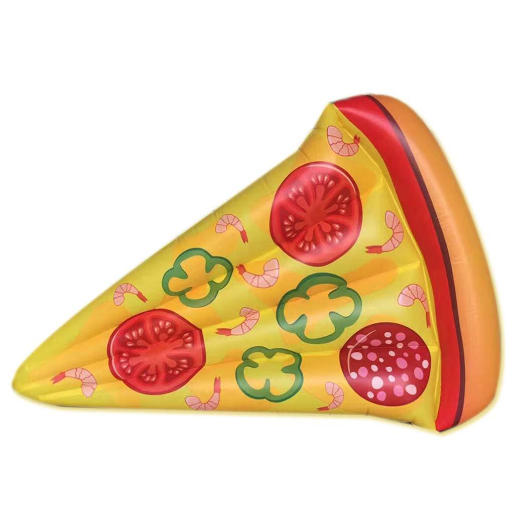 LCYCN Piscina Inflable,Inflable Pizza Piscina Flotador Diversión ...