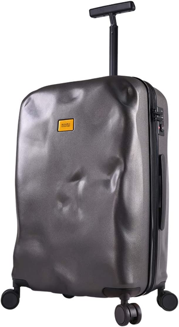 Size 22 2428 ,Darkgray,24inches HWX Suitcase,Carry-On Luggage Box Lightweight 360/°Spinner//TSA Approved//Cabin