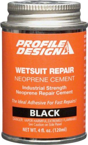 Profile Design Wetsuit Neoprene Repair Cement: 4oz - Wetsuit Design Profile