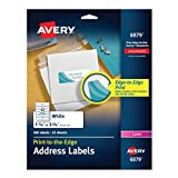 Avery Laser Labels, Matte, Mailing, 3-3/4 x 1-1/4, 300 per Pack (6879)