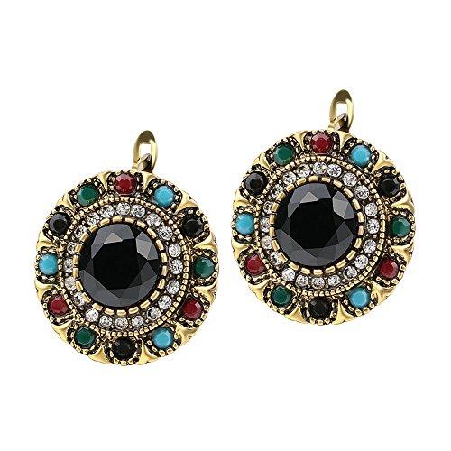 Shining Diva Fashion Jewellery Antique Tops Stud Traditional Stylish Fancy Party Wear Earrings For Women & Girls(Multi…