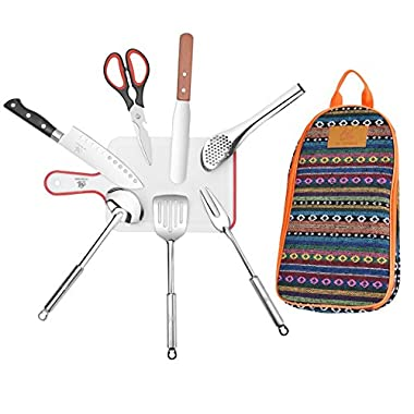Running Trade Camping Barbecue Cookware Set (7 Items)