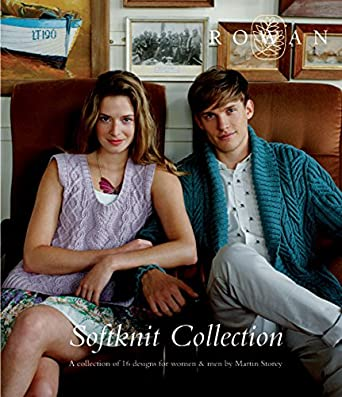 Rowan Softknit Collection Pattern Book 16 designs  for Women and Men
