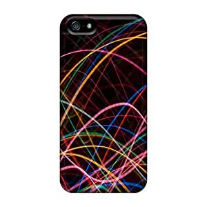 High-end Case Cover Protector For Iphone 5/5s(light Waves)