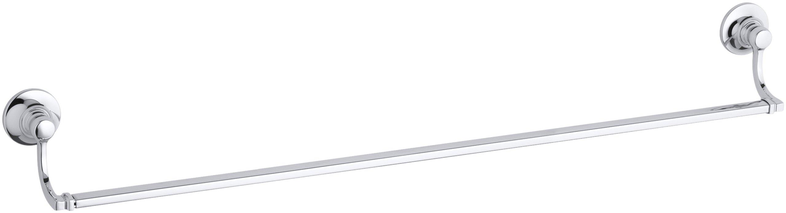 KOHLER K-11412-CP Bancroft 30-Inch Towel Bar, Polished Chrome