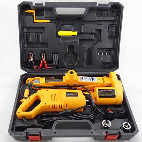 Electric Lift Kits : Anesty ton v automotive electric scissor car jack