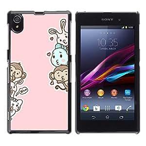 Dragon Case - FOR Sony Xperia Z1 L39 - All time is no time - Caja protectora de pl??stico duro de la cubierta Dise?¡Ào Slim Fit