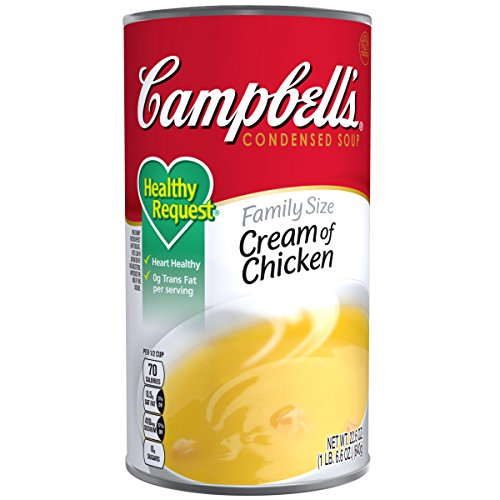Campbell's Healthy Request Condensed Soup, Cream of Chicken, 22.6 ()