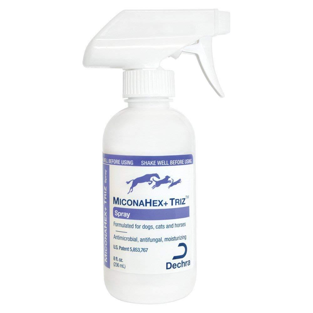 Dechra MiconaHex Triz Spray for Cats and Dogs 8 oz by Dechra