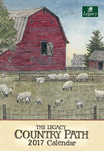 Legacy Publishing Group 2017 Pocket Calendar, Country Path