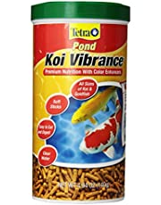 TetraPond Koi Vibrance 4.94 Ounces, Soft Sticks, Floating Pond Food (16359)