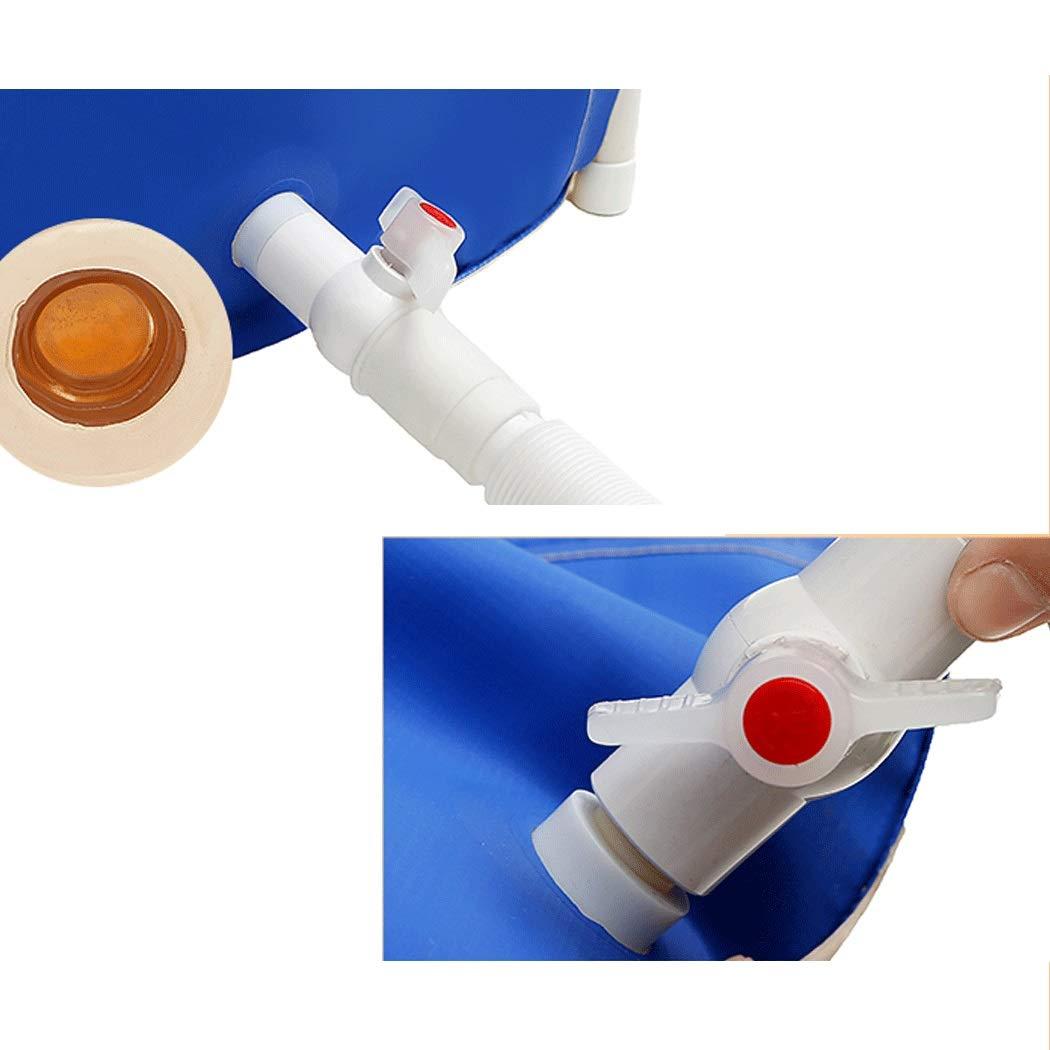YONGYONG Adult Bath Tub Folding with Bracket Free Inflatable Bathtub Thick PVC Tub 65CM*65CM, 65CM*70CM (Color : B, Size : 65CM*65CM) by Yongyong (Image #4)