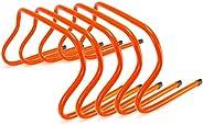 "Crown Sporting Goods SFIT-1202 9"" Speed Agility Training Hurdles, Pack"