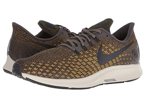 [NIKE(ナイキ)] メンズランニングシューズ?スニーカー?靴 Air Zoom Pegasus 35 Thunder Grey/Oil Grey/Dark Citron 7 (25cm) D - Medium