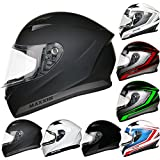 Leopard 2018 NEW STYLE LEO-813 Full Face Motorcycle Motorbike Crash Helmet