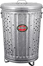 Behrens Manufacturing RB20 Steel Rubbish Burner and Composter, 25.5-Inch, 20 Gallon, Pack of 1
