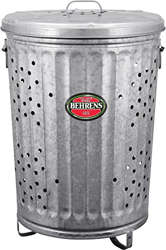Price comparison product image Behrens Manufacturing RB20 Galvanized Steel Rubbish Burner/Composter, 20 gal