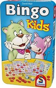 Schmidt Spiele 51246 Bingo: Niños de Bingo en caja de lata [Importado de Alemania]
