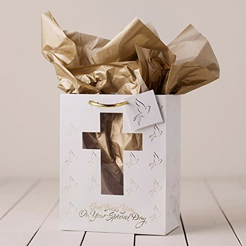 Dayspring Cards 35449 Gift Bag Confirmation Communion Medium for $<!--$4.37-->