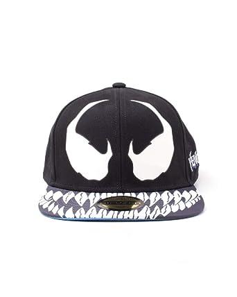Marvel Comics - Venom Snapback Cap  Amazon.co.uk  Clothing de9ef910686a