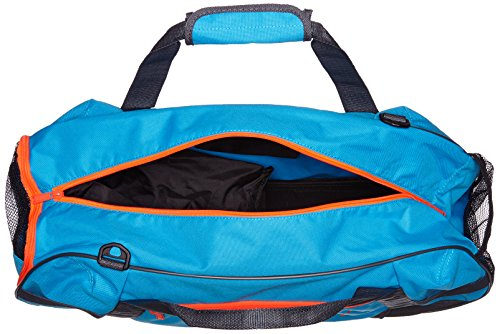PUMA Active TR Duffle Bag M Atomic Blue-Asphalt-Red Blast