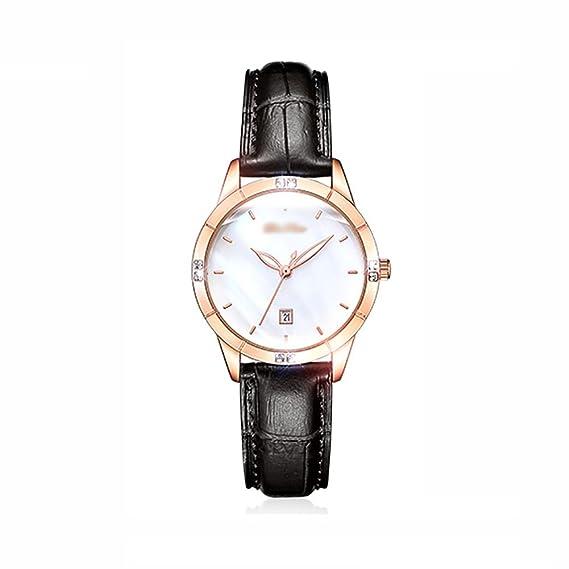 Watch Las mujeres Moda Reloj de cuarzo, Relojes de las mujeres Impermeable Simple Reloj mujer
