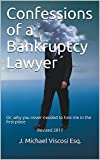 Too broke to go bankrupt… or just too smart to pay $1500.00 or more to someone to fill out a few simple forms? Succinct and readable, this manual has everything you need to conduct your simple chapter seven. You learn what it will do for you,...