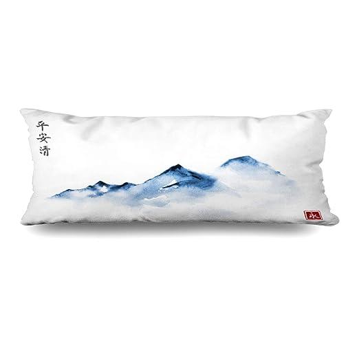 Ahawoso - Funda de almohada para el cuerpo, 20 x 54 pulgadas ...