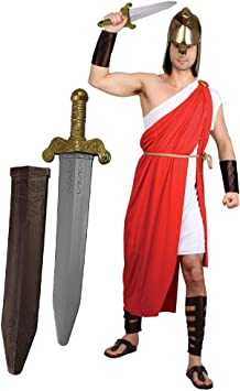 ILOVEFANCYDRESS Disfraz DE Gladiador O Espartano para Hombres con ...