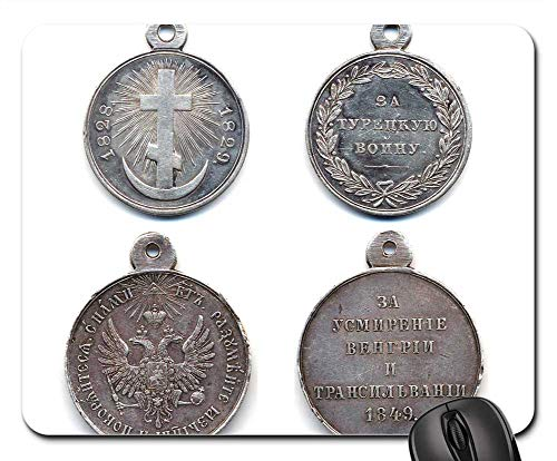 (Mouse Pads - Medals of The Russian Empire Military Award Fighting)