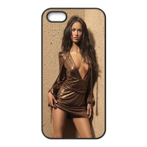 Megan Fox34 coque iPhone 5 5S cellulaire cas coque de téléphone cas téléphone cellulaire noir couvercle EOKXLLNCD25960