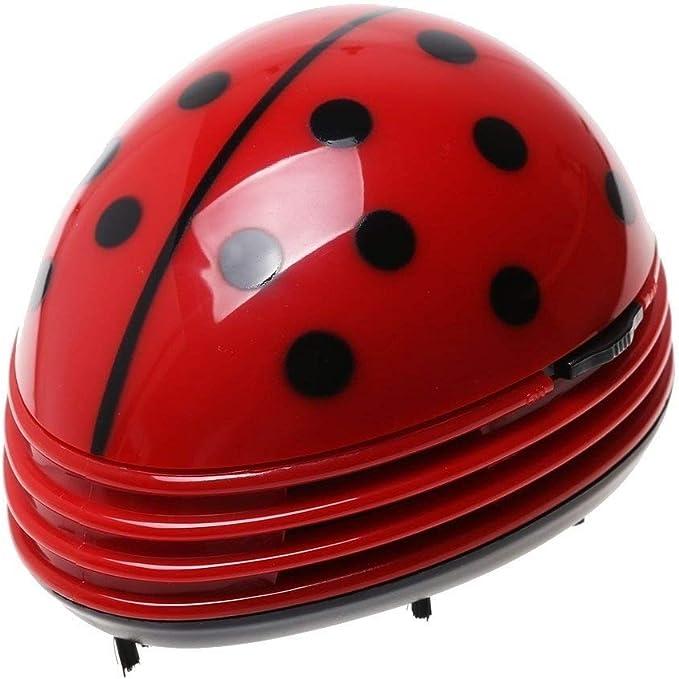 Gearmax® Mini Aspirador de Mariquita, Aspiradora de Mano Aspirador de Mesa para Migas: Amazon.es: Electrónica