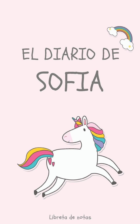 Amazon.com: El Diario de Sofia Libreta de Notas: Cuaderno ...