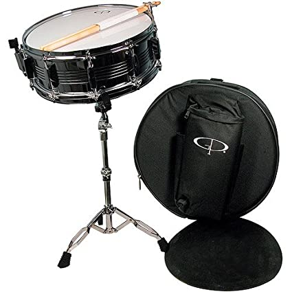 amazon com gp percussion sk22 complete student snare drum kit