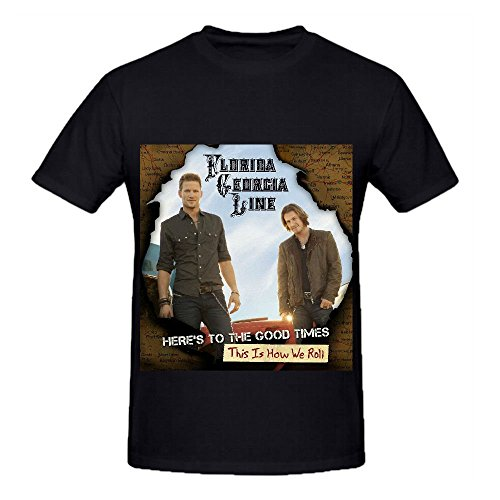 Florida Georgia Line Heres To The Good Timesthis Is How We Roll Hits Mens Shirts