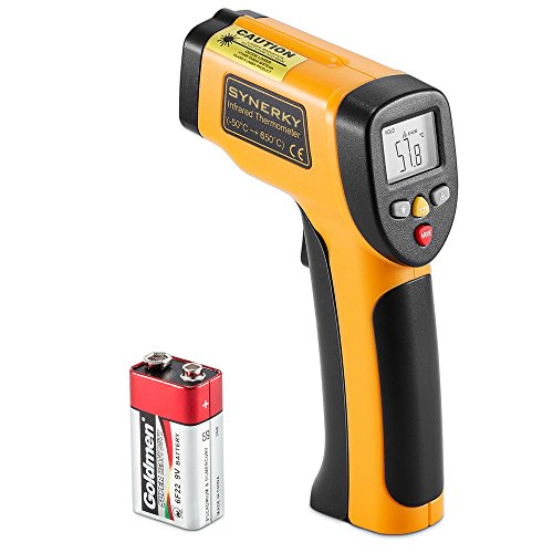 Digital Laser Infrared Thermometer 58~1202  (-50 ~ 650) Non-contact Temperature Gun Laser Thermometer Gun for Cooking/ Brewing/Oven/Pool/Air/Refrigerator/Freezer