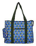 Jenzys Pineapple Large Travel Tote Bag