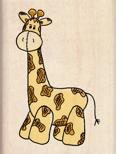 Giraffe Rubber Stamps