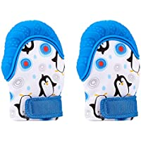 ACVCY Teething Mittens Self Soothing Pain Relief...