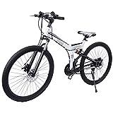 MercadoT Bicicleta Montaña Rodada 26-21 Velocidades Centurfit (Blanco)