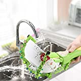 Smart Dishwasher Handheld Automatic Dish Scrubber Brush,Vovomay Antibacterial Kitchen Dishwasher Brush