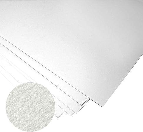 Papel Unica, de 50% algodón, ideal para grabado, de 50 x 70 cm 250 G/m², 10 hojas, de Fabriano, color blanco: Amazon.es: Hogar
