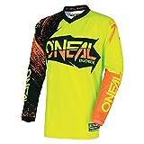 O'Neal Youth Element Burnout Jersey (Black/Hi-Viz/Orange, Large)