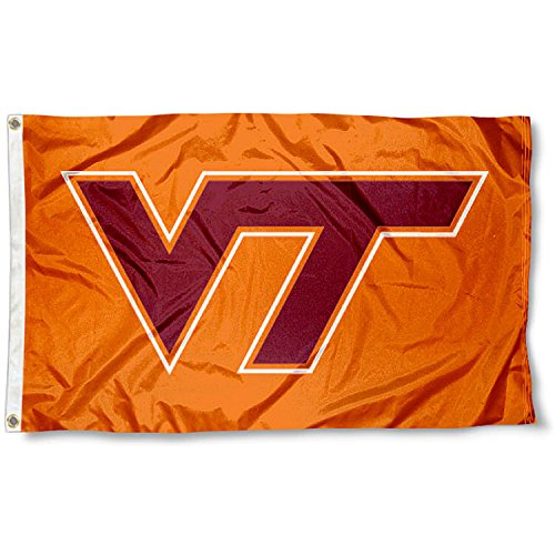Virginia Tech Hokies VA TECH Flag